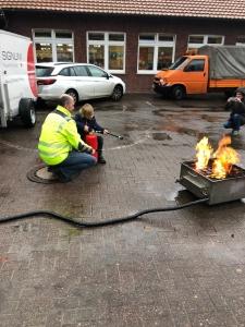 Brandschutzerziehung in der Grundschule Hullern