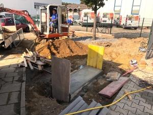 Read more about the article Die Arbeiten im Brandschutzzentrum gehen gut voran